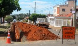 Saema realiza troca de rede de distribuição de água no Jardim Cândida