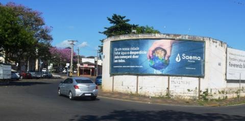 Saema inicia campanha de conscientização de economia de água