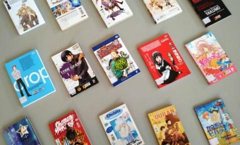 Biblioteca Municipal: mangás dominam o catálogo do mês de junho