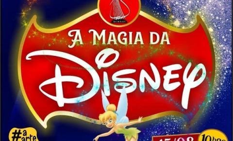 """Corporação Musical """"Francisco Paulo Russo"""" apresenta """"A magia da Disney"""" pelo canal Youtube/CulturaAraras"""