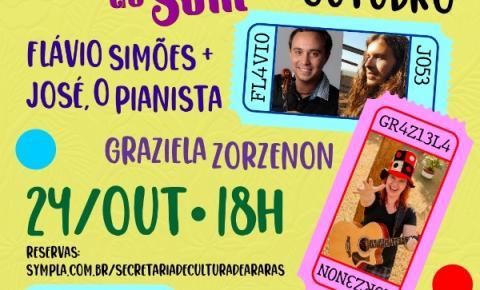 Shows do Estação do Som prometem agitar Centro Cultural domingo