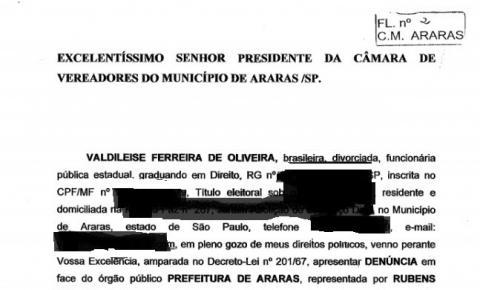 """JACOVETTI CONVOCA VEREADORES PARA """"DISCUTIREM"""" DENÚNCIA SOBRE ATOS DO PREFEITO JÚNIOR FRANCO"""