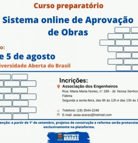 Projetos de construção e reforma civil serão protocolados exclusivamente em plataforma digital a partir de 1° de setembro