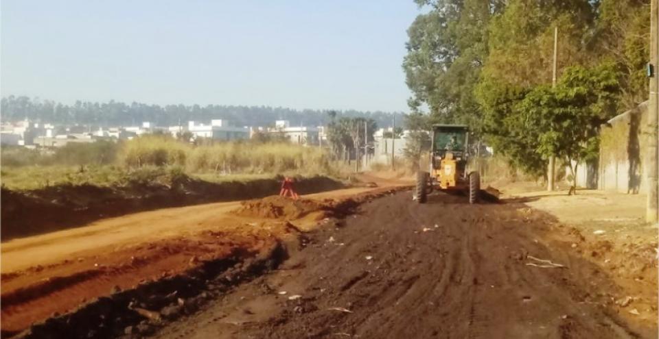 Região Leste: Prefeitura promove melhorias na Avenida Carola